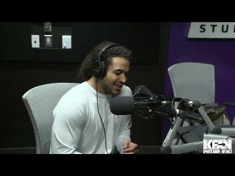 image for WATCH: Eric Kendricks stops by to join Paul Allen at TCO | #KFANVikes