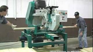 Wood-Mizer Industrial - HR300 Single Head Resaw