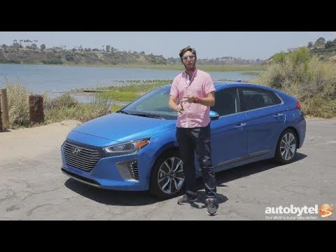 2017 Hyundai Ionic Hybrid Test Drive Video Review 55 54 MPG