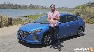 2017 Hyundai Ioniq Hybrid Test Drive Video Review – 55/54 MPG
