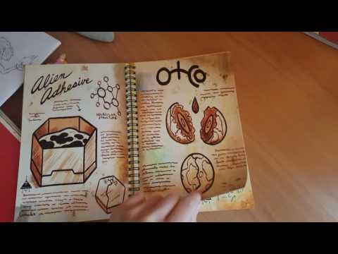 Обзор 2 части дневника из Гравити Фолз