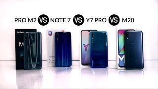 M20 VS Note 7 VS Pro M2 VS Y7 Pro, Mana yang Lebih Unggul?