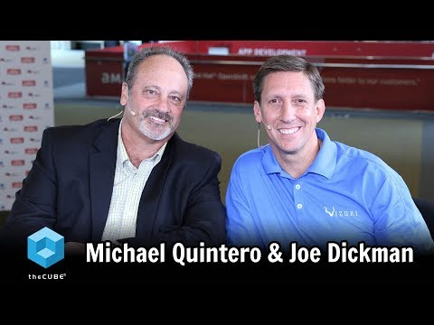 Joe Dickman, Vizuri and Michael Quintero, LogistiCare | Red Hat Summit 2017