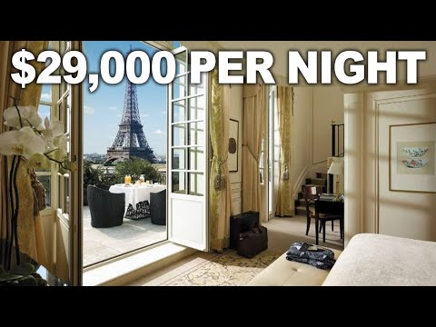 The Most Expensive Hotel Rooms In Paris