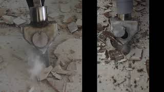 Dustless Tile Removal VS Traditional - Side By Side Comparison
