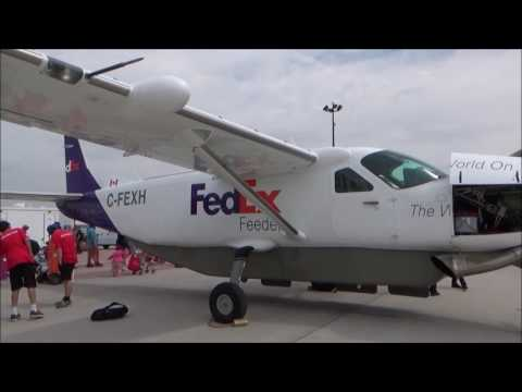 Take A Peak Inside this Single-Engine Turboprop Small Cargo Plane FedEx Feeder by Ahmed Dawn