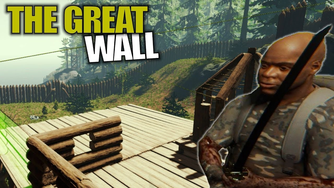 Download THE GREAT WALL   The Forest   Let's Play Gameplay   S14E26