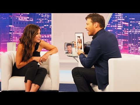 Harry Connick Jr Surprises Sandra Bullock!