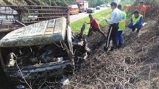 Palong 4-vehicle crash: 8 killed, including 6 burnt to death
