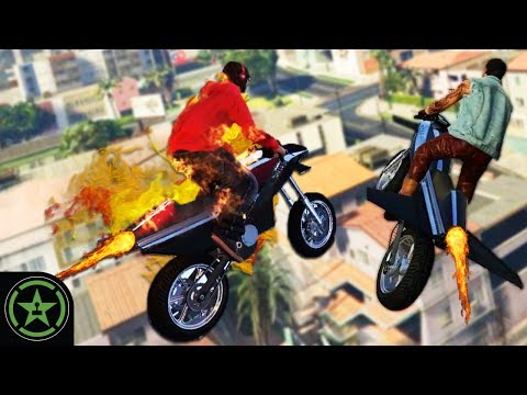 Let's Play - GTA V - Rocket Bikes