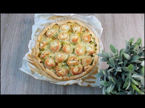 recette-quiche-au-poireaux-chèvre-légère-(520kcal/portion)