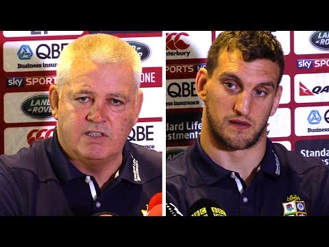 Warren Gatland & Sam Warburton Full Pre-Match Press Conference - New Zealand v Lions - Third Test