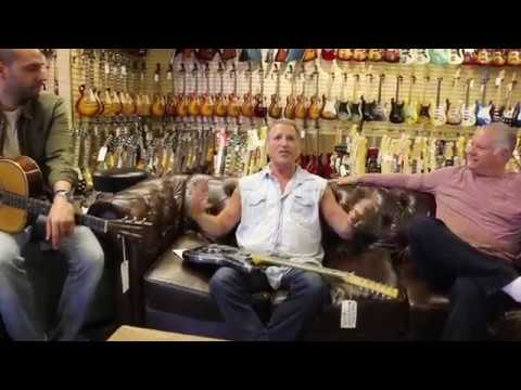 Frank Stallone Mark Agnesi and Norm talk about Guitars, John Travolta & Sylvester Stallone