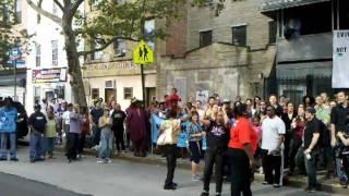 Eviction blockade for Mary Lee Ward!