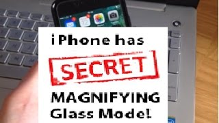 Secret Magnifying Glass Mode in iPhone is packed with features! iOS 10