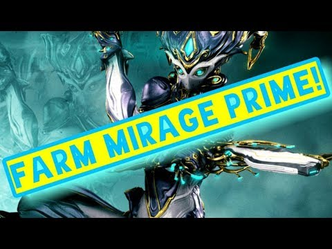How to Get Mirage Prime | Warframe Beginner's Relic Farming Guide