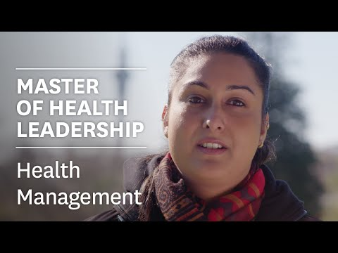 Specialise in Health Management to lead the world of healthcare