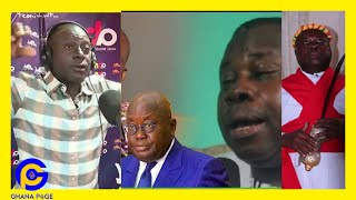 Osofo Kwabena Tawiah 'Kwasiampanin' in TR0UBLE after fαiled Nana Addo deαth prophecy-Captain Smart🔥
