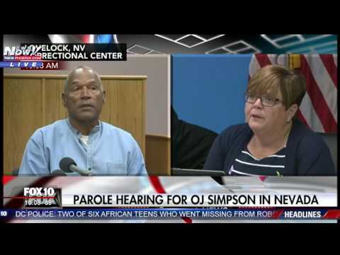 FULL: OJ Simpson Parole Hearing In Nevada (FNN)