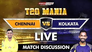 Live Chennai Vs Kolkata T20 | Live Scores and Analysis | SportsFlashes