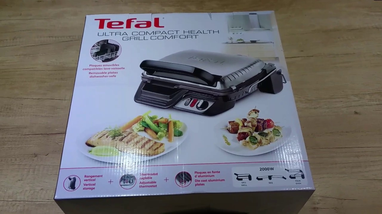 tefal kontaktgrill gc3060 ultra compact grill comfort 3 in. Black Bedroom Furniture Sets. Home Design Ideas