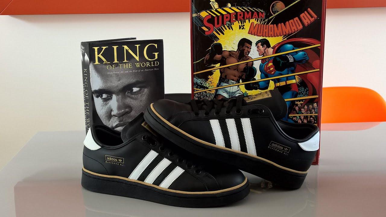 Adidas Muhammad Ali (up close & on foot)