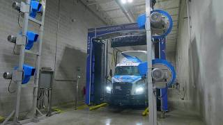 Truck and trailer wash by Pit Stop Truck & Trailer Service