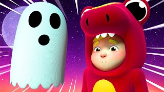 Children Music 🎤 Scary HALLOWEEN Ghost SONG for KIDS 🎷One Zeez Nursery Rhymes