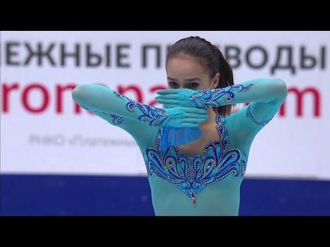 2017 Russian Nationals - Alina Zagitova SP ESPN