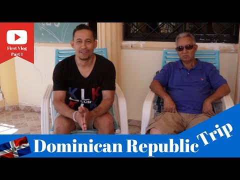 My First Vlog Part 1 Dominican Republic Trip