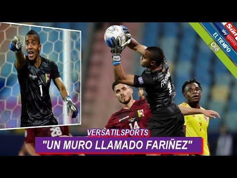 ASI CALIFICA PRENSA SUDAMERICANA PARTIDO de FARIÑEZ COLOMBIA vs VENEZUELA
