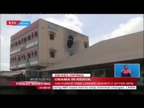 Terror group al Shabaab suffers huge losses as Obama jets in Kenya