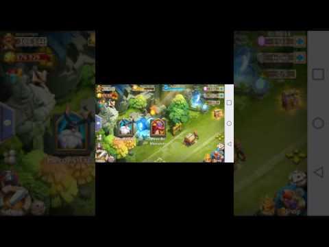 Castle Clash Aurora Night Overview