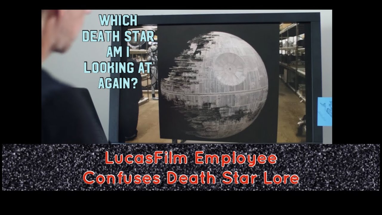 LucasFilm Employee Confuses Death Star Lore
