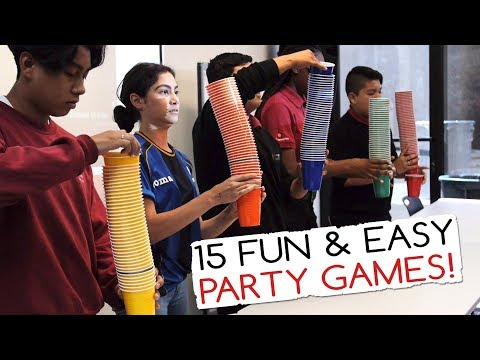 15 Fun & Easy Party Games For Kids (And Adults!) | Minute to