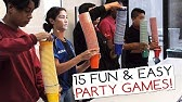 15 Fun &amp Easy Party Games For Kids And Adults (Minute to Win It Party)
