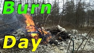 "Change Of Plans Today ""burn Day"" #10 Hatching Duck & Goose Eggs"