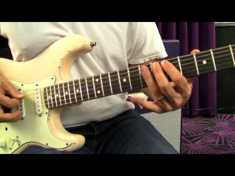 Hendrix Style Rhythm Lesson - Blues Rock Guitar Lessons ...