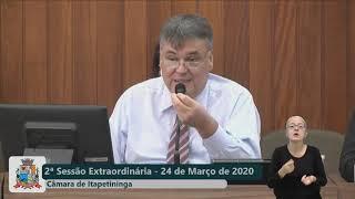 02ª Sessão Extraordinária 2020