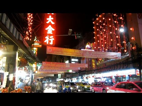 Walking Chinatown Yaowarat Road From Day to Night