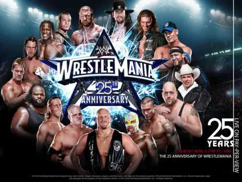 WWE WrestleMania 25 Official Theme     'War Machine' by AC DC