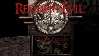 Resident Evil: Hd Remaster - Shield Key: Clock Puzzle {full 1080p Hd, 60 Fps}