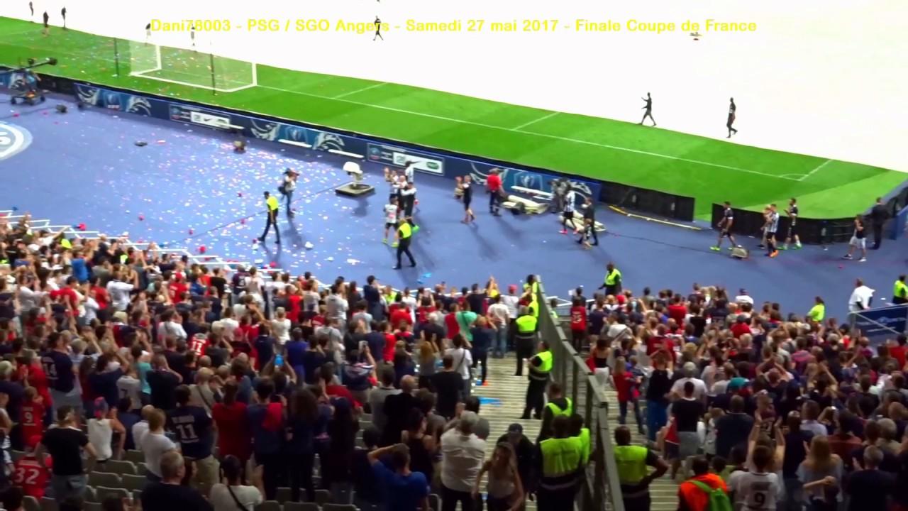 PSG / Angers 27.05.2017 : 1-0 (Finale CdF) 9/10 : Virage ...