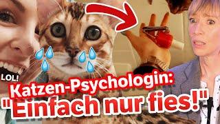Bonnytrash: KRALLEN LACKIEREN für Klicks?! Katzenpsychologin reagiert!
