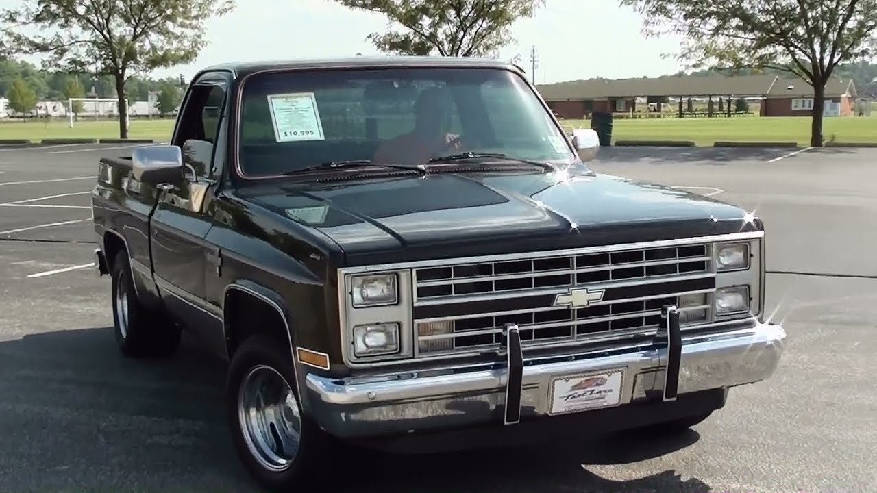 hight resolution of black 1987 chevy pickup