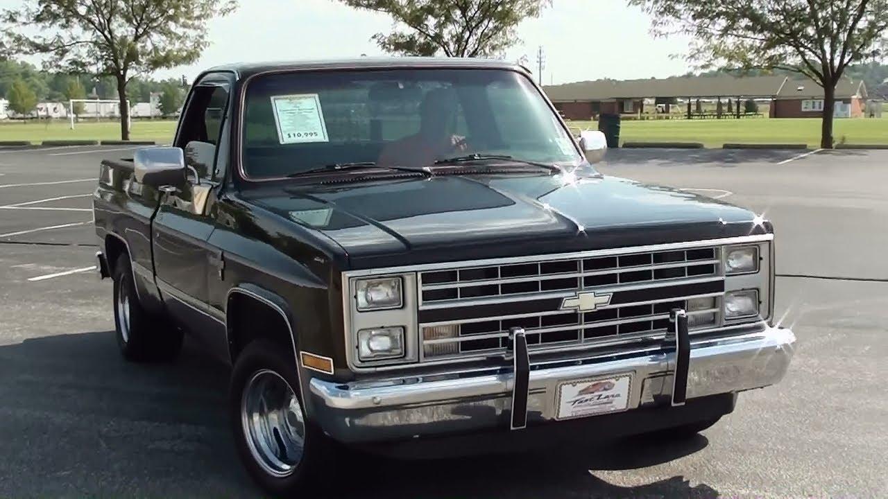 black 1987 chevy pickup [ 1280 x 720 Pixel ]