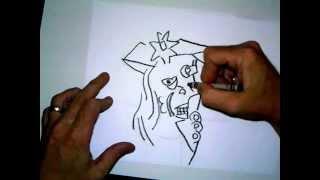 Art instruction for children picasso style faces part one Cubism