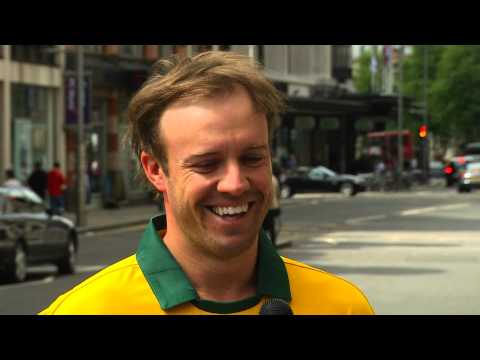 AB de Villiers Interview - London 02 June 2013