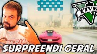 GTA V – SURGI DAS SOMBRAS E SURPREENDI!, Subindo um PRÉDIO com o Carro
