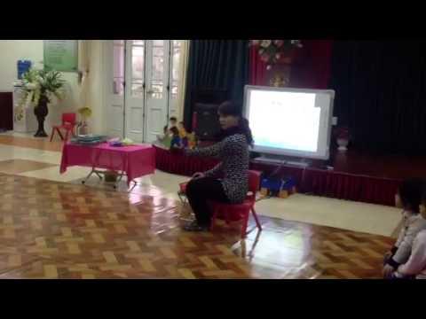 Dự thi giáo viên giỏi tiết Giáo dục Âm nhạc (video 8)